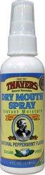 Thayers Dry Mouth Spray Peppermint Sugar Free w/Pump 4 oz ()
