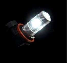(Putco 2500H1W Driving Fog Light Bulb - LED White)