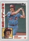 Mike Schmidt (Baseball Card) 1984 Topps - [Base] #700 (Card Schmidt Baseball)