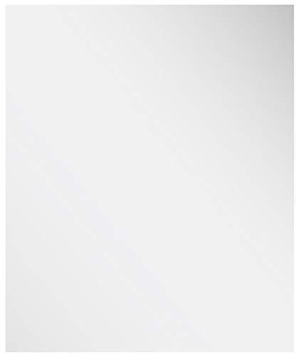 Specchio da Parete in Legno Anticato Realizzato a Mano Naturtempel 37 x 26 cm Colore: Bianco