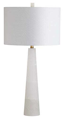 Alabaster Table Lamp - Safavieh TBL4067A Lighting Collection Delilah Alabaster White Table Lamp,