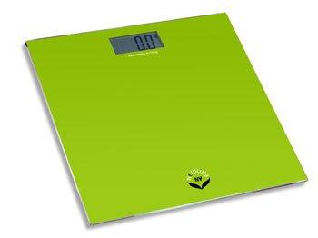 NewlineNY Auto Step On Digital Bathroom Scale, SBB0818 Modern Green by NewlineNY