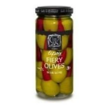 Sable and Rosenfeld Vodka Tipsy Fiery Olives, 5 Ounce - 6 per (Pepper Vodka)
