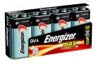 Energizer 522FP4 Alkaline Energizer Battery, 9 Volt, 4/PK, Silver