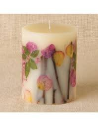 Rosy Rings Apricot & Rose Botanical Candle 6'' X 9.5'' by Rosy Rings