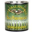 General Finishes QTHSG High Performance Water Based Topcoat, 1 quart, Semi-Gloss