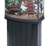All Glass Aquarium AAG55002 Pine Cabinet, 26bf
