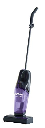 - Eureka 95B 2-in-1 Stick & Handheld, Lightweight Rechargeable Cordless Vacuum Cleaner, Purple