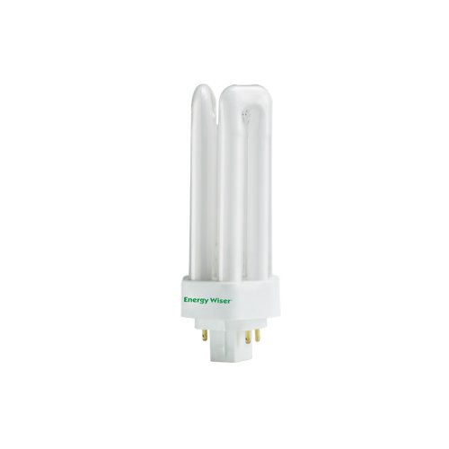 Bulbrite CF26T841/E 26W Dimmable Triple 4-PIN 841K Compact Fluorescent Light Bulb, Cool White (Plug Fluorescent 26w Compact)