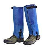 Unigear Polainas Impermeable 1 Par Prueba De Viento Nieve Lluvia Protección para Las Piernas para Montaña