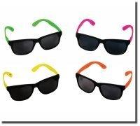 Bulk Wholesale Lot - 48 Pair Neon Party Sunglasses