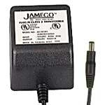 AC to AC Wall Adapter Transformer 24 Volt @ 500mA Black Straight 2.1mm Female Plug