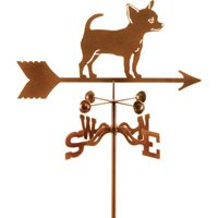 Garden Mount Weather Vane, Model 9340 - Chihuahua