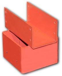 Ellis Manufacturing - Beam Holder 6x6 (Attaches 6x6 lumber post to 4x4 beam) -
