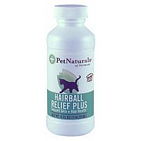 Hairball Relief Plus pour chats - 4 Oz