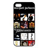 Thriller Diy Costume (Michael Jackson iPhone 5 5S Hard Case Cover Protector Christmas Gift)
