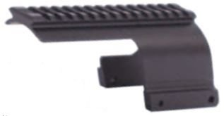 Sun Optics USA Shotgun Rail Mossberg 500 12-Ga Saddle Scope Mount (Shotgun Receiver Rail)