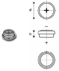 Varta Knopfzelle V80h 1 2v 80mah 55608 101 401 Elektronik