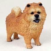 Chow, Red Original Dog Figurine (4in-5in)