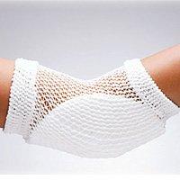 Heel-Elbow-Protector-Open-Mesh-Univ-White