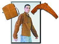 Weldmark - Cape Sleeve, Welders Leather, Small (3 Units)