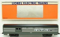 Lionel 9595 New York Central 20th Century Limited Aluminum Combo Passenger Car