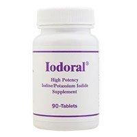 Iodoral (High Potency Supplément iodure en iode / potassium) 90 Comprimés