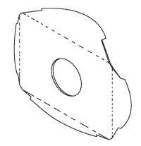 Lens Splash Shield for Ritter, Knight RCL609