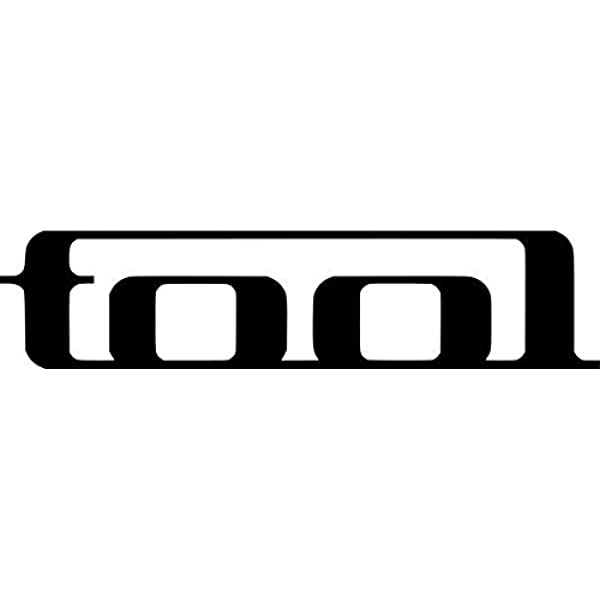 Tool Rock Band Vinyl Decal Sticker 6 Wide Gloss Black Color
