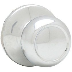 Kwikset 720C 26 Copa Hall/Closet Knob, Polished Chrome