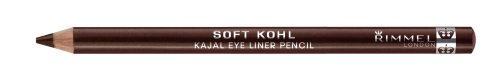 Rimmel Soft Kohl Kajal Eye Liner Pencil, Sable Brown, 1 ea