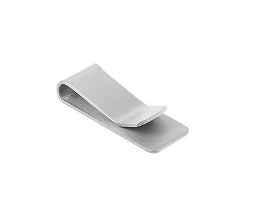 Beitsy 1 pince /à papier portable en acier inoxydable pour billets de banque