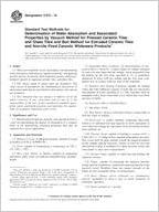 ASTM C373-16 Standard Test Methods for Determination of Water ...