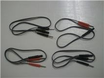 2 Pin Lead Wire Splitters - Bifurcating Wires = 4 Cables = 8 total pins ()