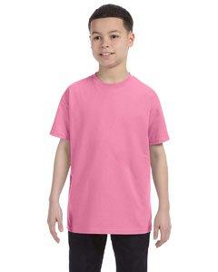 Jerzees Youth 5.6 oz.; 50/50 Heavyweight Blend� T-Shirt - AZALEA - XL (Heavyweight Youth Azalea T-shirt)
