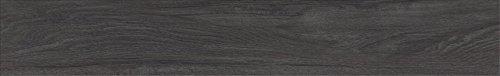 d'phlor 90598 Luxury Vinyl Planks Press-In-Place Flooring, Black Onyx Wood