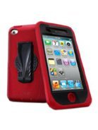 iSkin Duo Hybrid Case for iPod Touch 4G - Blaze Red