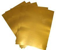 image regarding Printable Gold Paper known as Laser Copier Printable Gold Adhesive Vinyl Motion picture, Paper