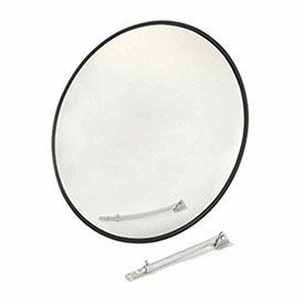 Outdoor Wide Angle Convex Safety Mirror, 26'' Diameter, Acrylic, 160