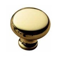 Classic Solid Brass Knob (Baldwin Hardware 4706.030.BIN Solid Brass Classic Knob)