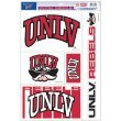 NCAA University of Nevada Las Vegas 88255061 Multi Use Decal, 11 x 17'', Black
