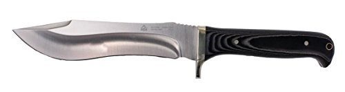 Puma SGB Buffalo Hunter Micarta Handle Hunting Knife with Ballistic Nylon Sheath 6817200M