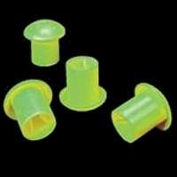 Mutual Industries 14640-138-3 Standard Rebar Safety Cap #3-#9, Lime (Pack of 500)