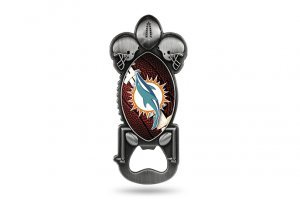 Rico Industries NFL Miami Dolphins Party Starter Bottle Opener (Dolphins Magnet Football Miami)
