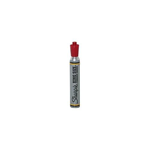 (JAM Paper Sharpie King Size Marker - Red - Sold Individually)