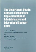 The Department Head's Guide to Assessment Implementation in Administrative and Educational Support Units by Nichols Karen W. Nichols James O. (2000-06-01) Paperback