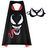 Aodai Halloween Costumes and Dress up for kids - Venom Costume Cape and Mask - http://coolthings.us