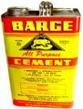 1 GALLON BARGE Cement Glue Rubber Contact