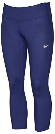 4440bfe99b969 Amazon.com: Nike Epic Run Women's Cropped Leggings Dri-Fit Blue: Shoes