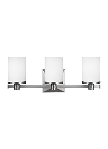 Murray Feiss VS22903SN Randolf 3 Light Bathroom Vanity Light (Vanity Lights Murray Feiss)
